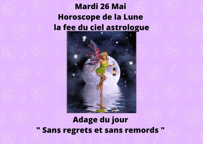 Horoscope de la Lune du 26 Mai 2020