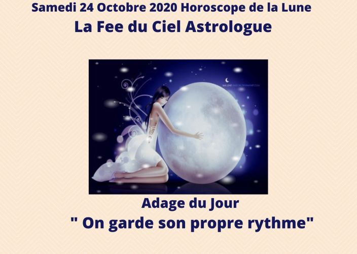 Horoscope de la Lune du 24 Octobre 2020
