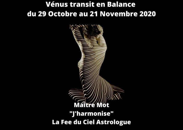 Transit de Vénus en Balance