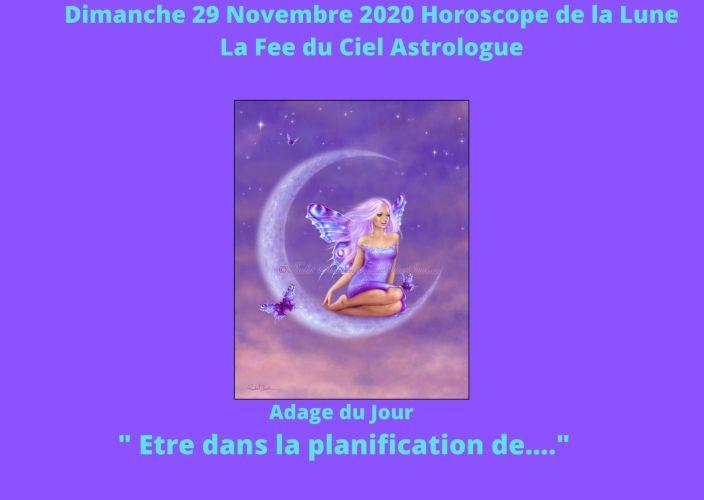 Horoscope de la Lune du 29 Novembre 2020