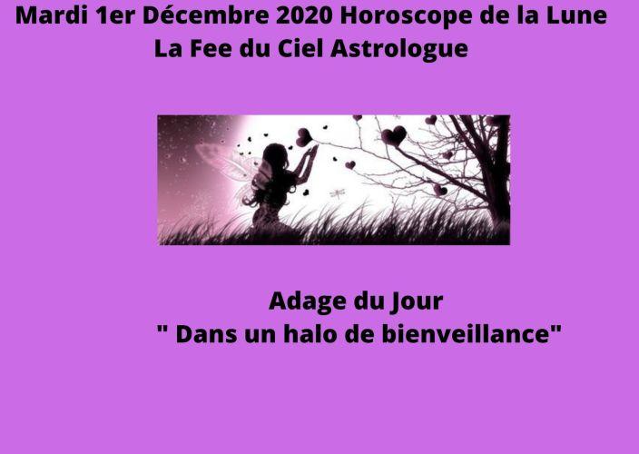 Horoscope de la Lune du 1er Décembre 2020