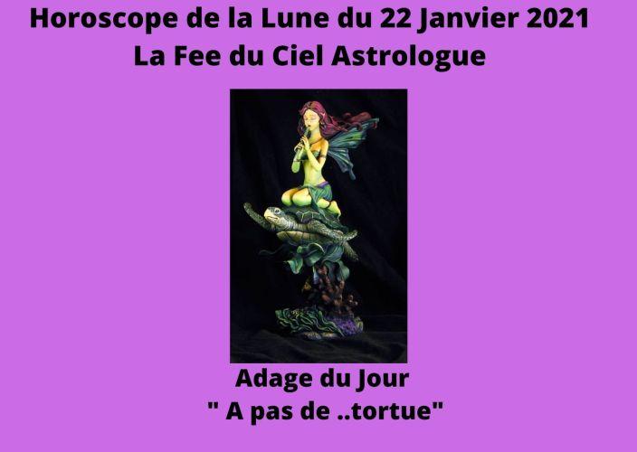 Horoscope de la Lune du 22 Janvier 2021