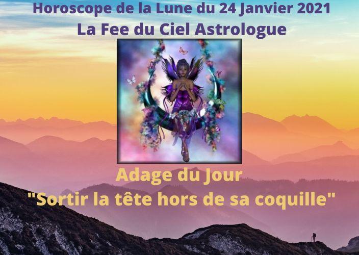Horoscope de la Lune du 24 Janvier 2021