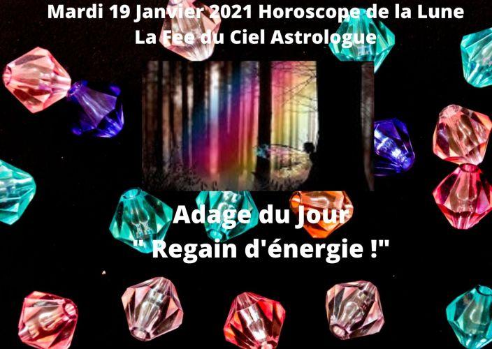 Horoscope de la Lune du 19 Janvier 2021