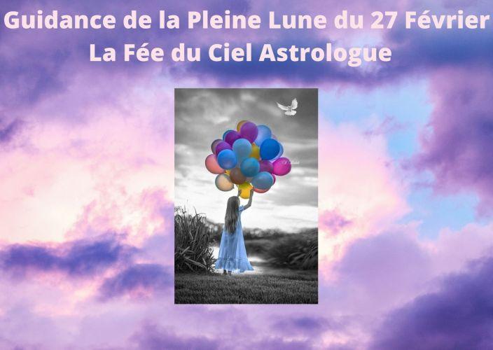 Guidance de la Pleine Lune du 27 Février 2021