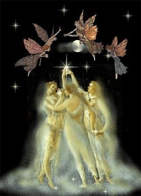 Fairies and Moon