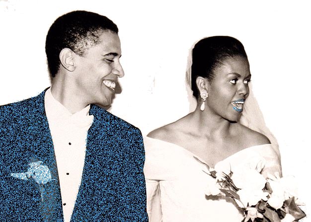 Barack & Michelle Obama's Birth Chart Compatibility for Marriage
