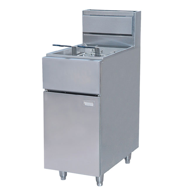 GAS DEEP FRYER STANDING ASTRO