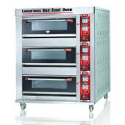 OVEN GAS FOMAC 3 DECK