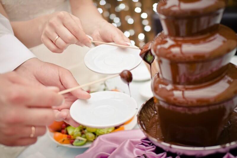 Aplikasi Chocolate Fountain