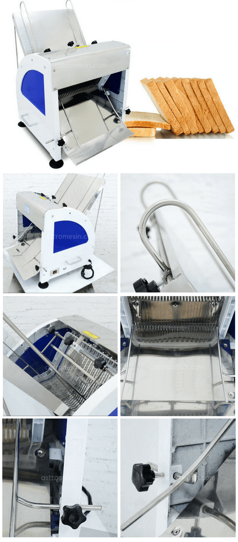 FITUR MESIN PEMOTONG ROTI BREAD SLICER ASTRO BY GETRA