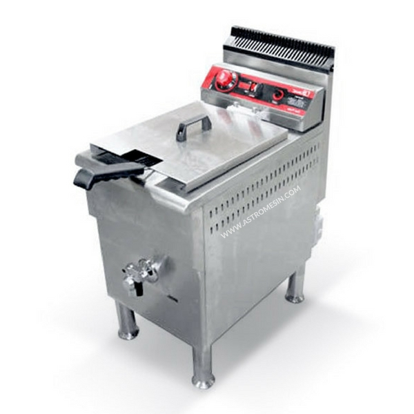 GAS DEEP FRYER 17 LITER FOMAC