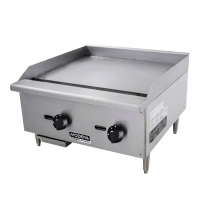 GAS GRIDDLE MODENA 2 BURNER