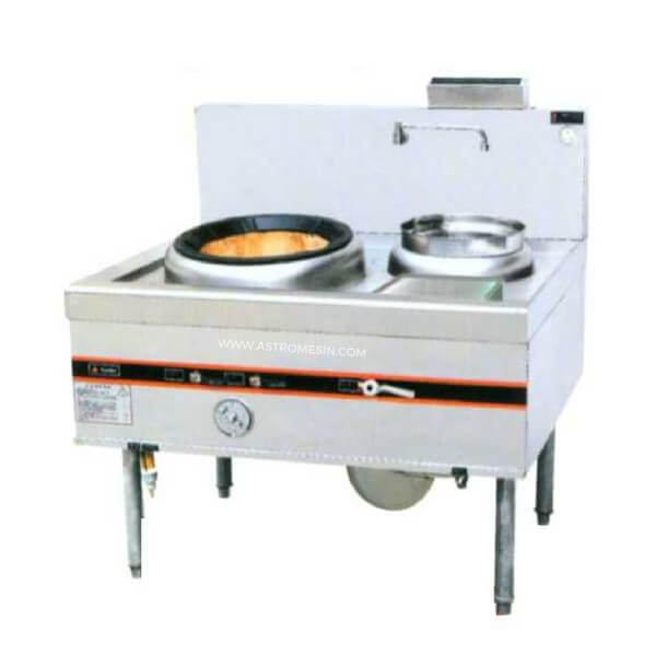 GETRA Gas Kwali Range 1 burner 1 soup blower