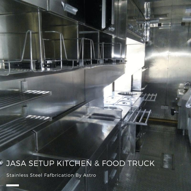 Portofolio Jasa Pembuatan Kitchen Food Truck