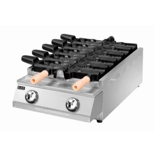 Mesin Taiyaki Cetakan Kue Waffle Ikan GETRA