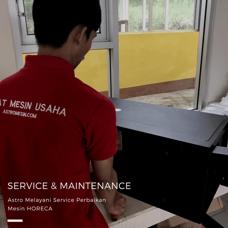 Service & Perawatan Mesin