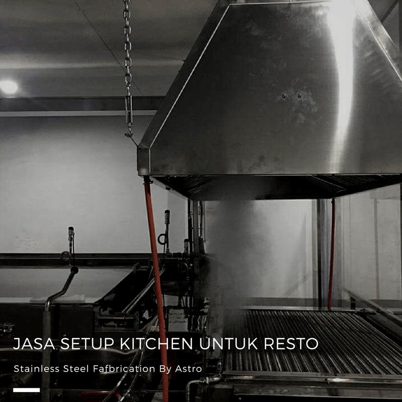 Setup Kitchen Resto