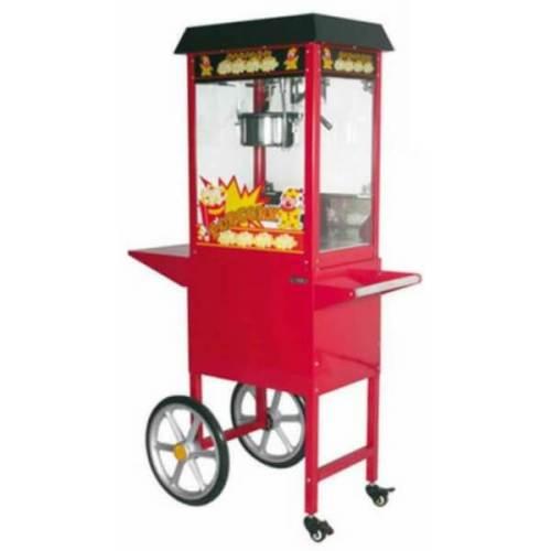Mesin Popcorn Dengan Roda GETRA