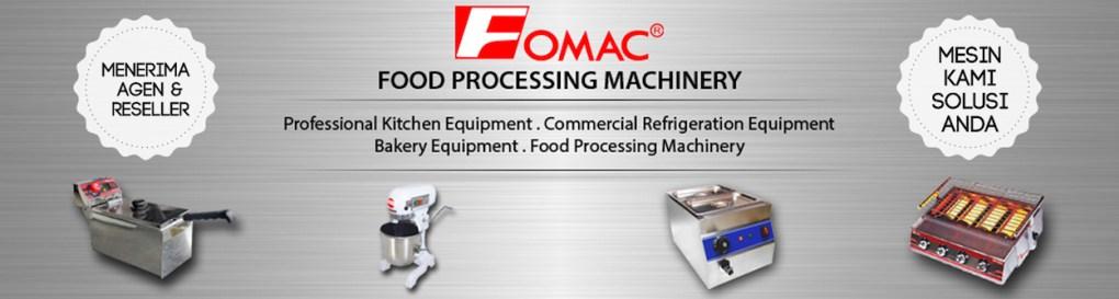 Fomac Indonesia | Distributor Mesin Pengolah Roti, Makanan & Minumanv