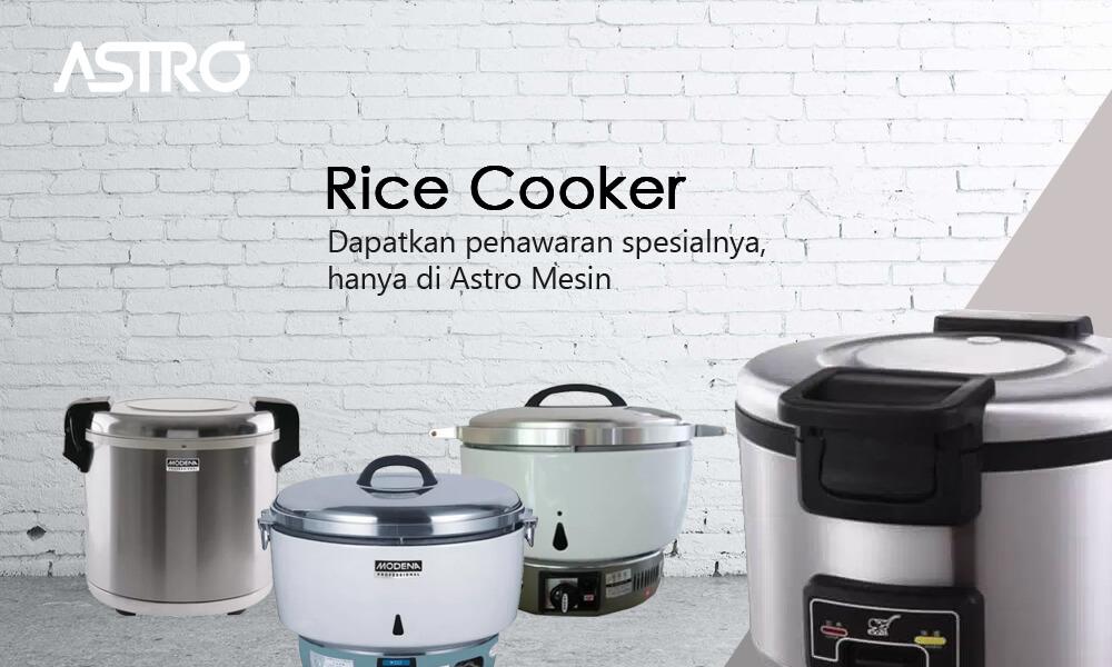 Banner Alat Penanak Nasi Rice Cooker