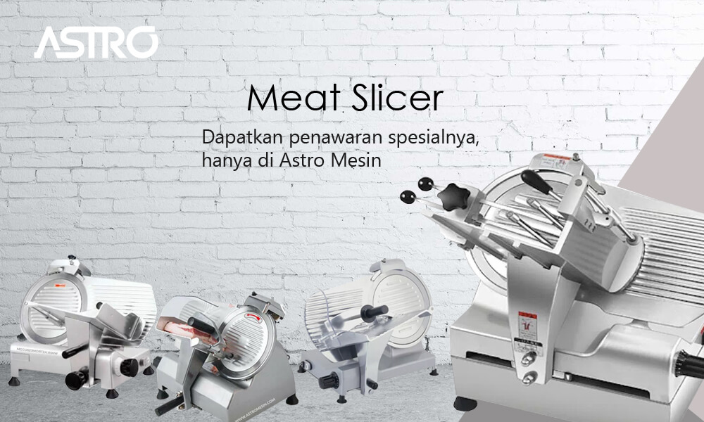 Banner Mesin Meat Slicer