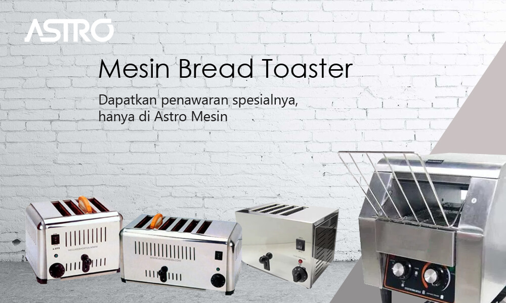 Banner Mesin Bread Toaster