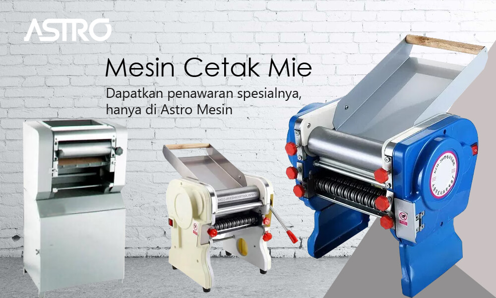 Banner Mesin Pembuat Mie - Mesin Cetak Mie