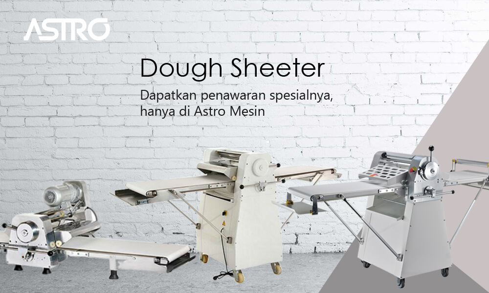 Banner Mesin Dough Sheeter