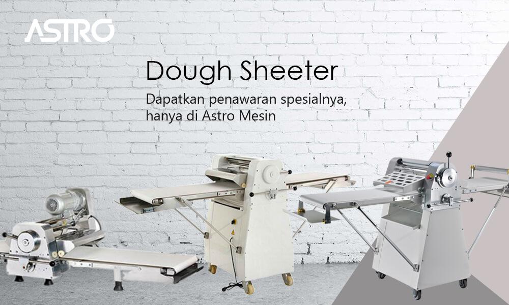 Banner Mesin Dough Sheeter