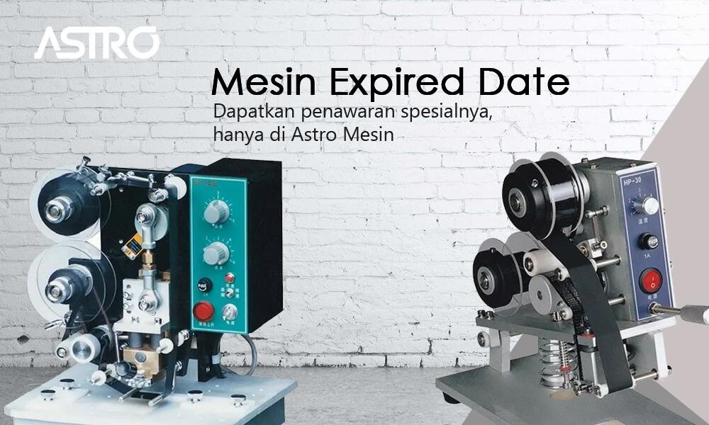 Banner Mesin Expired Date