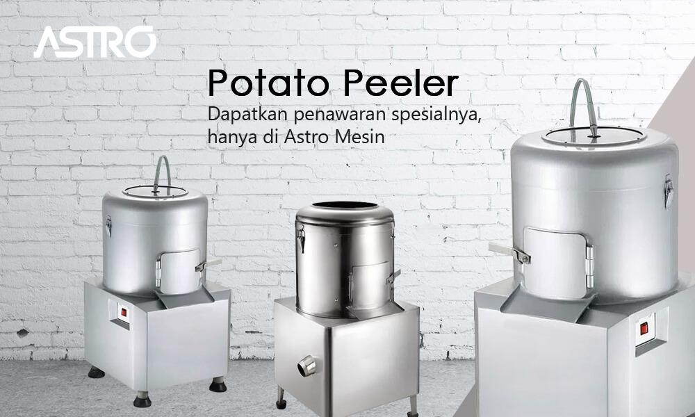 Banner Mesin Potato Peeler / Mesin Kupas Kentang