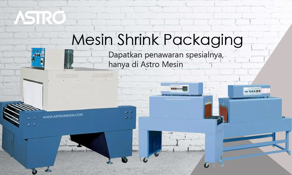 Banner Mesin Shrink Packaging