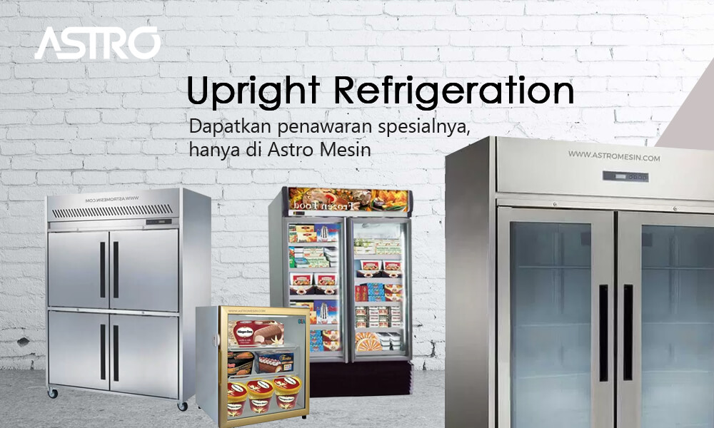 Banner Harga Upright Chiller & Upright Freezer Refrigeration