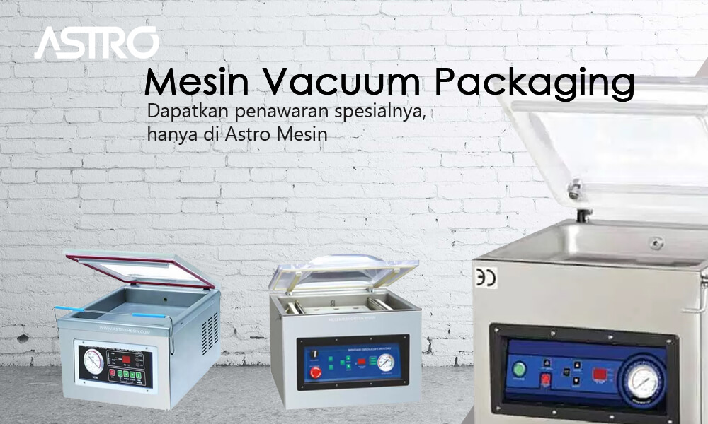 Banner Mesin Vacuum Packaging