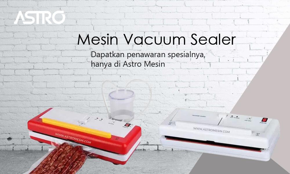 Banner Mesin Vacuum Sealer