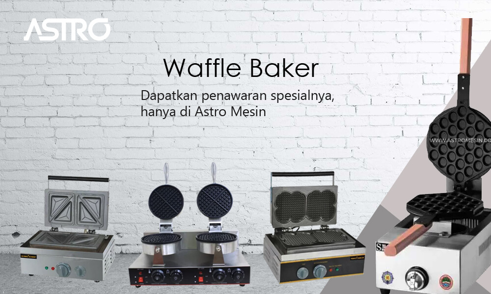 Mesin Waffle Baker