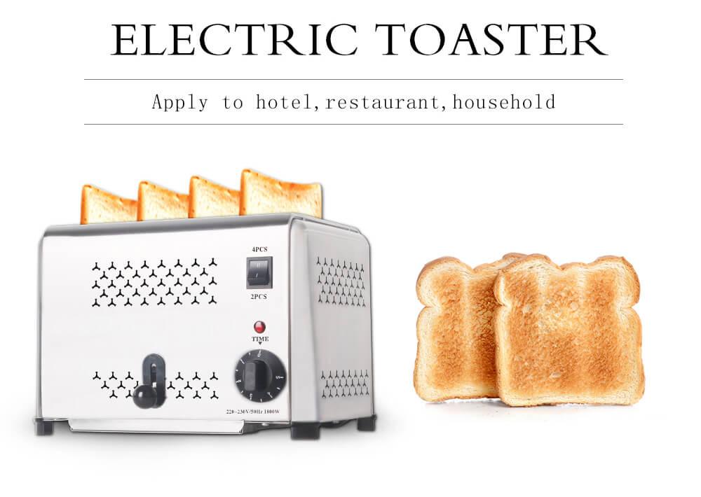Fitur Mesin Bread Toaster