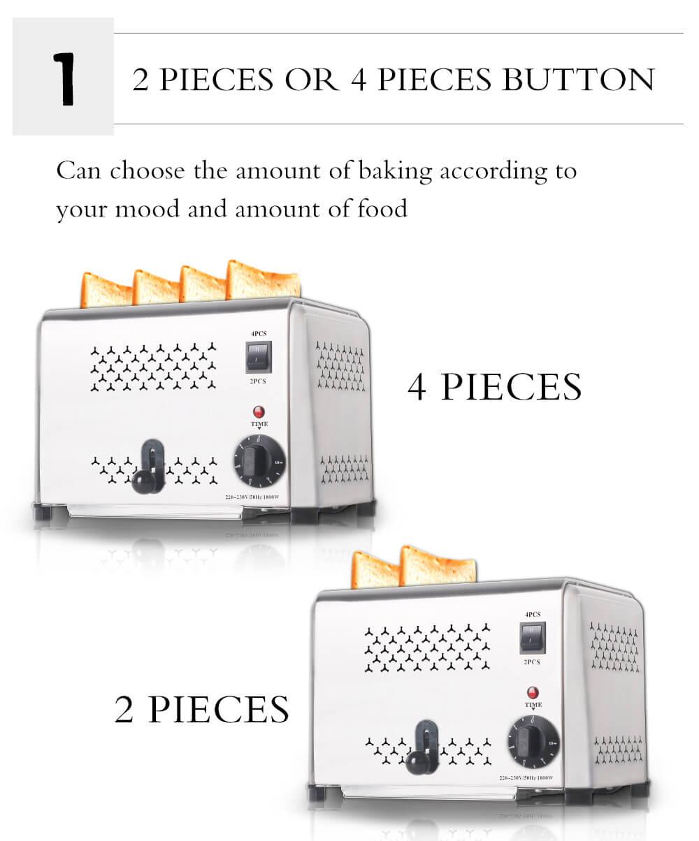 Keunggulan Mesin Panggang Roti Bread Toaster