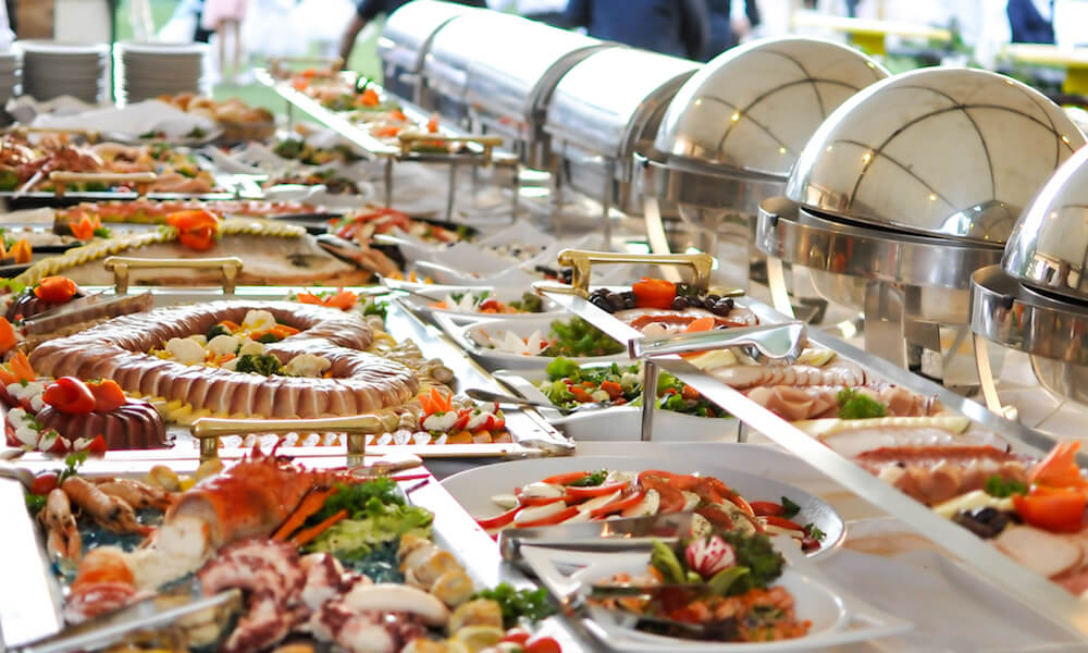Sajian Prasmanan Wedding Food Hotel