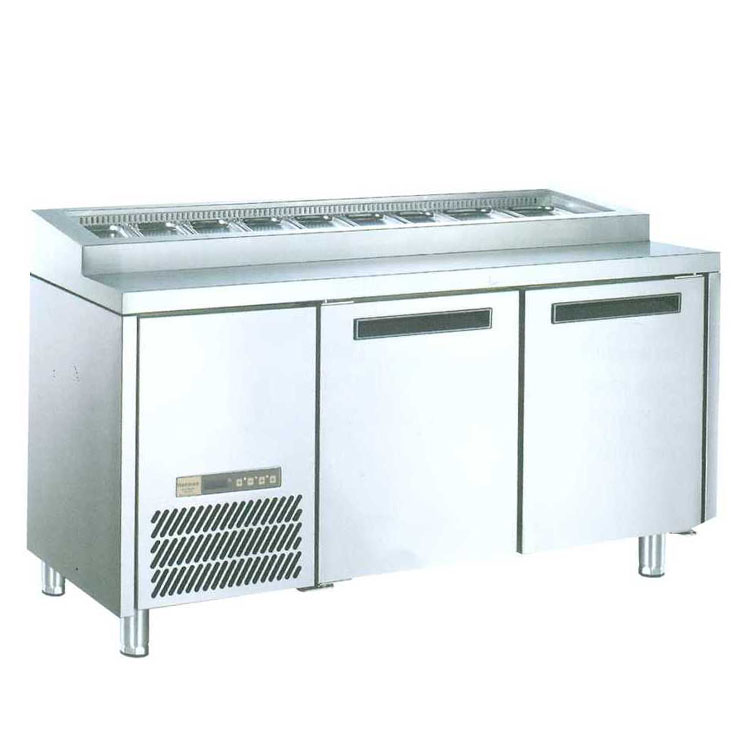 Undercounter Chiller For Salad Pizza 2 Door