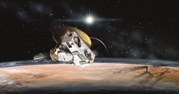 Artist's Impression of Pluto Encounter