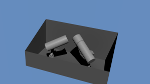 3D-mallin avulla pystyttiin varmistamaan, että kaukoputket eivät missään asennossa törmää seiniin tai toisiinsa.