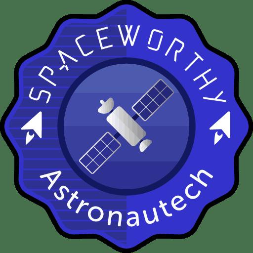 Astronautech Spaceworthy award@512x