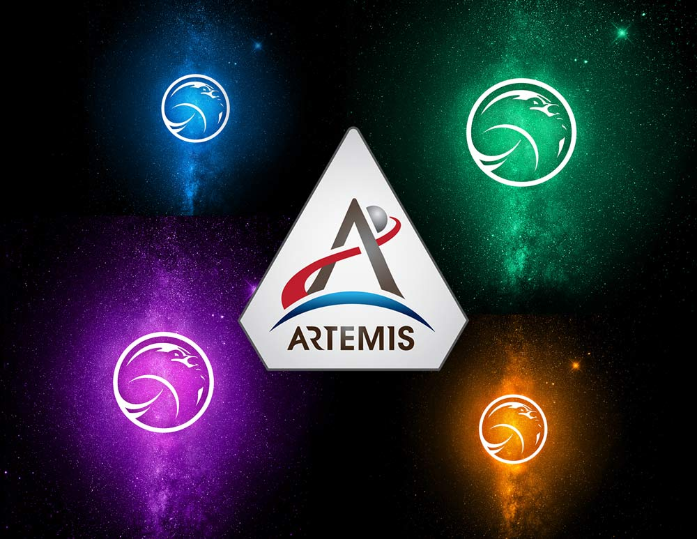 New artwork released by NASA for the Artemis Program. CREDIT/NASA
