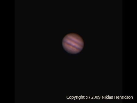Jupiter by Niklas Henricson