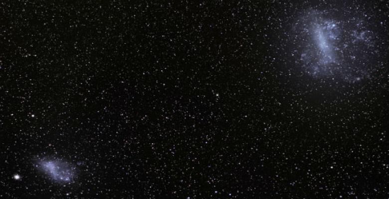 Awan Magellan. Kredit: S. Brunier/European Southern Observatory