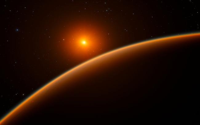 Ilustrasi Eksoplanet. Kredit: ESO/spaceengine.org