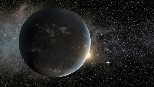 Ilustrasi planet yang mengitari bintang K. Kredit: NASA Ames/JPL-Caltech/Tim Pyle