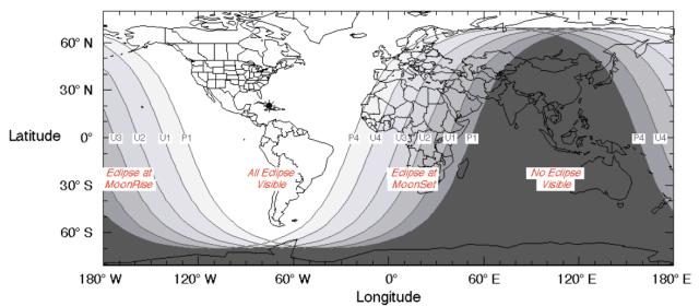 éclipse de lune 2019 visibilité
